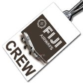 FIJI AIRWAYS A330 crew tag